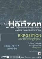 Par-delà l'horizon - Affiche de l'exposition