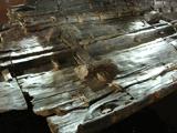 Bateau exposé au musée de Douvres