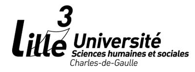 Univ Lille 3   Logo black